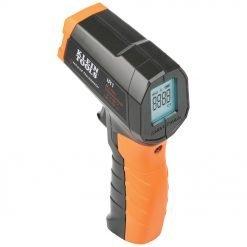 Termómetro infrarrojo digital con láser de enfoque del objetivo